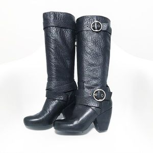 Lucky Brand. Candice pebbled leather boots